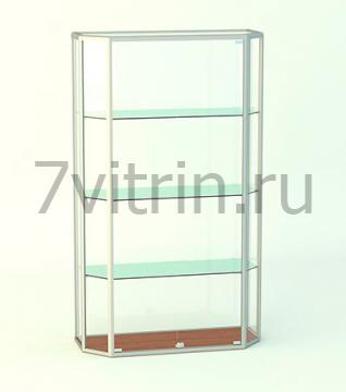 Навесная витрина без фриза АЛМАЗ