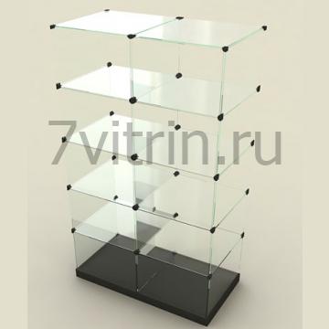 Стеклянный куб 10