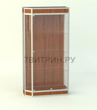 Алюминиевая витрина серии Агат 1
