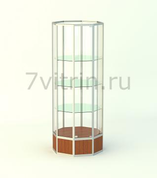 Алюминиевая музейная витрина ОКТАГОН 800