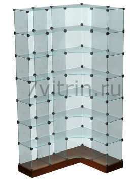 Стеклянная куб витрина для продажи конфет для конфет