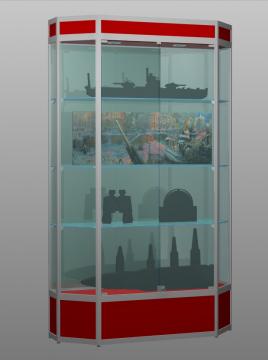Витрина для музея Алмаз 3