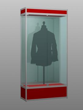 Музейная витрина под манекен