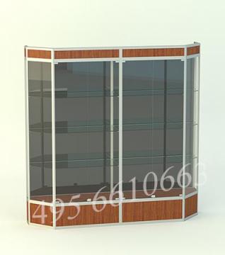 Витрина для кубков Алмаз 2-двухсекционный