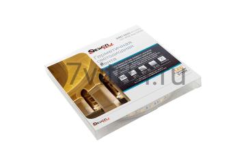 Лента светодиодная LUX, 5050, 60 LED/м, 14,4 Вт/м, 12В, IP65, Нейтральный белый (4000K)