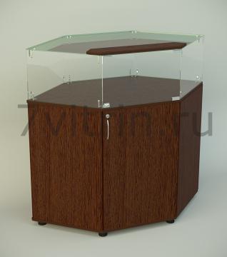 Стеклянная витрина серии СТPU 3