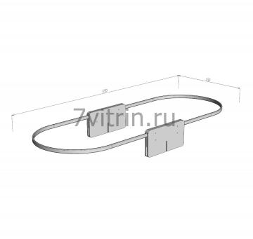 Комплект №1 штор с шторкодержателями (рейками и опорами)