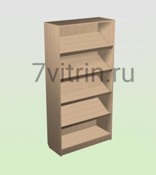 Стеллаж торговый ЭКШ300 4 н