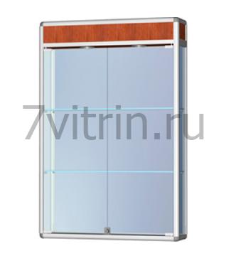 Навесная витрина для кубков с фризом