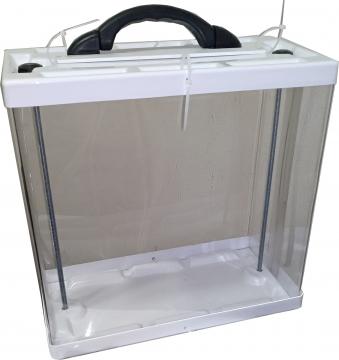 Переносной ящик для голосования Прозрачное оргстекло.