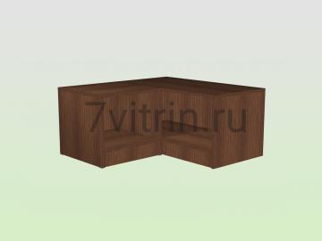 Тумба для угловой витрины из кубиков