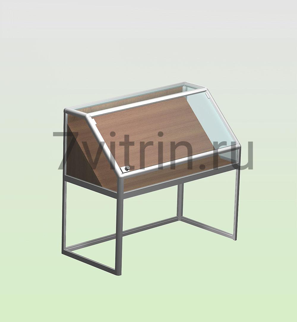 Стеклянная витрина для школьного музея серии Рубин
