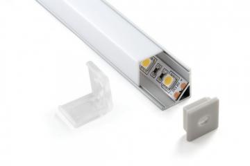 Комплект угловой подсветки холодный белый 6000К 9,6V