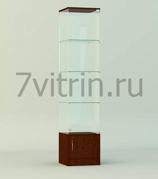 Стеклянная витрина серии СТ 4