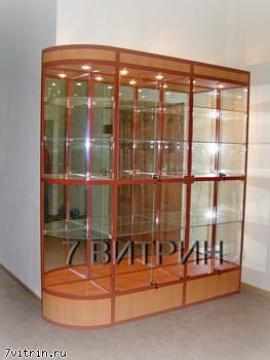 Музейная витрина для кубков