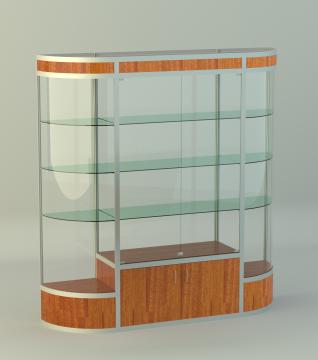 Витрина для кубков накопитель 500мм