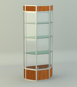 Витрина для кубков Алмаз 3